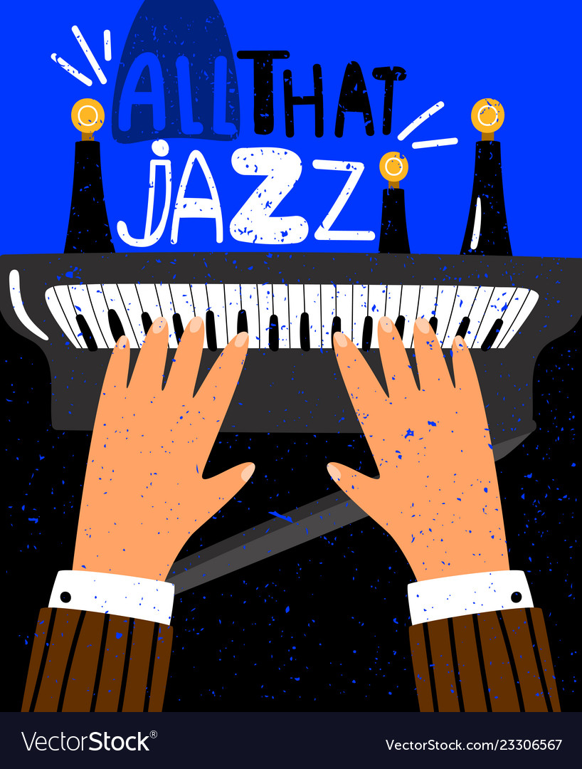 Jazz concept poster