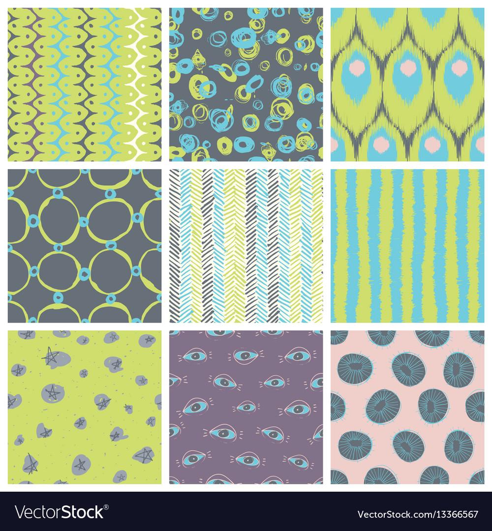Trendy pattern set