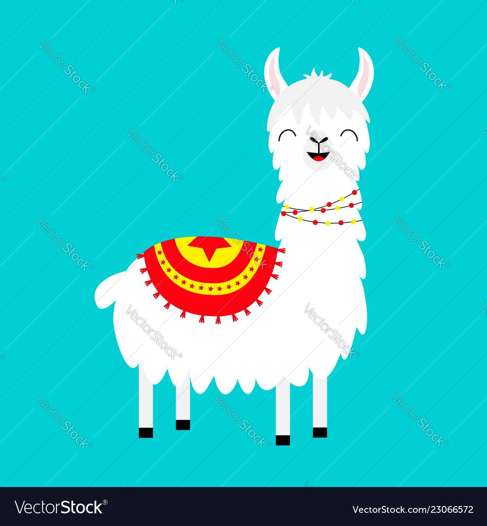 Llama alpaca childish baby collection cute