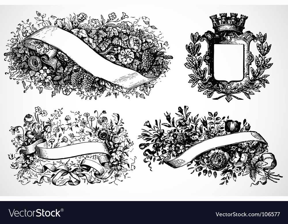 Victory floral wreaths