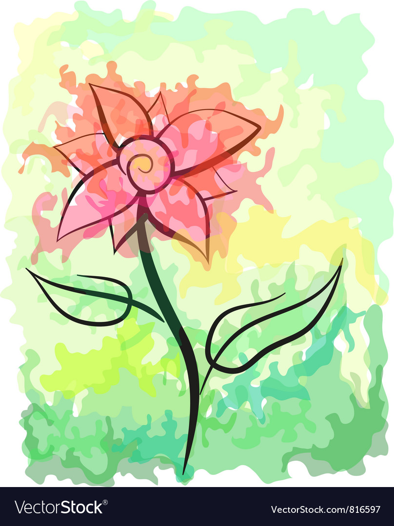 Blossom vector image