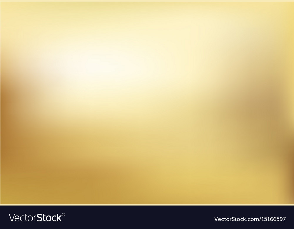 Gold blurred gradient style background abstract