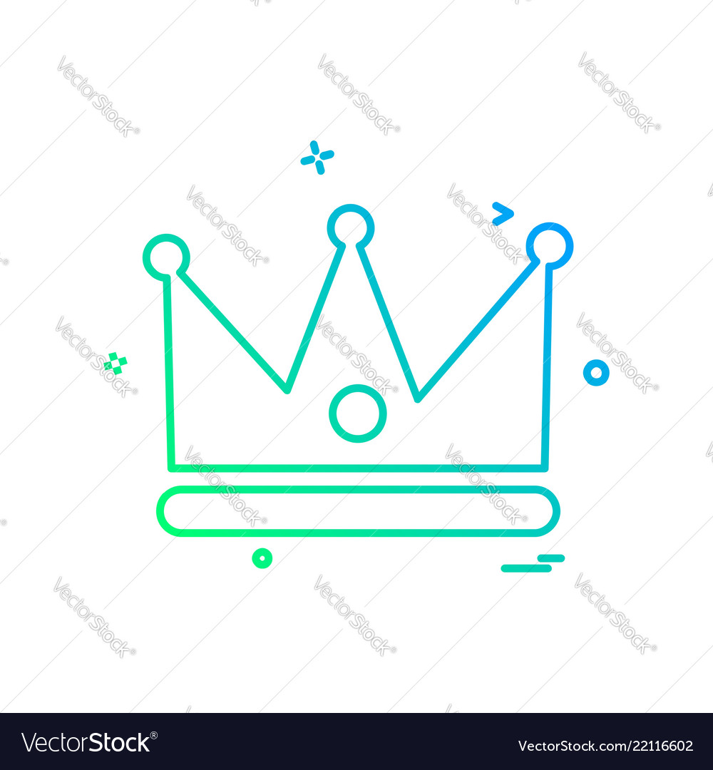 Crown icon design