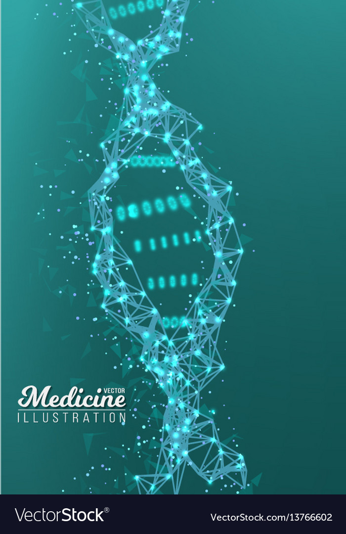 Dna spiral medical molecule structure