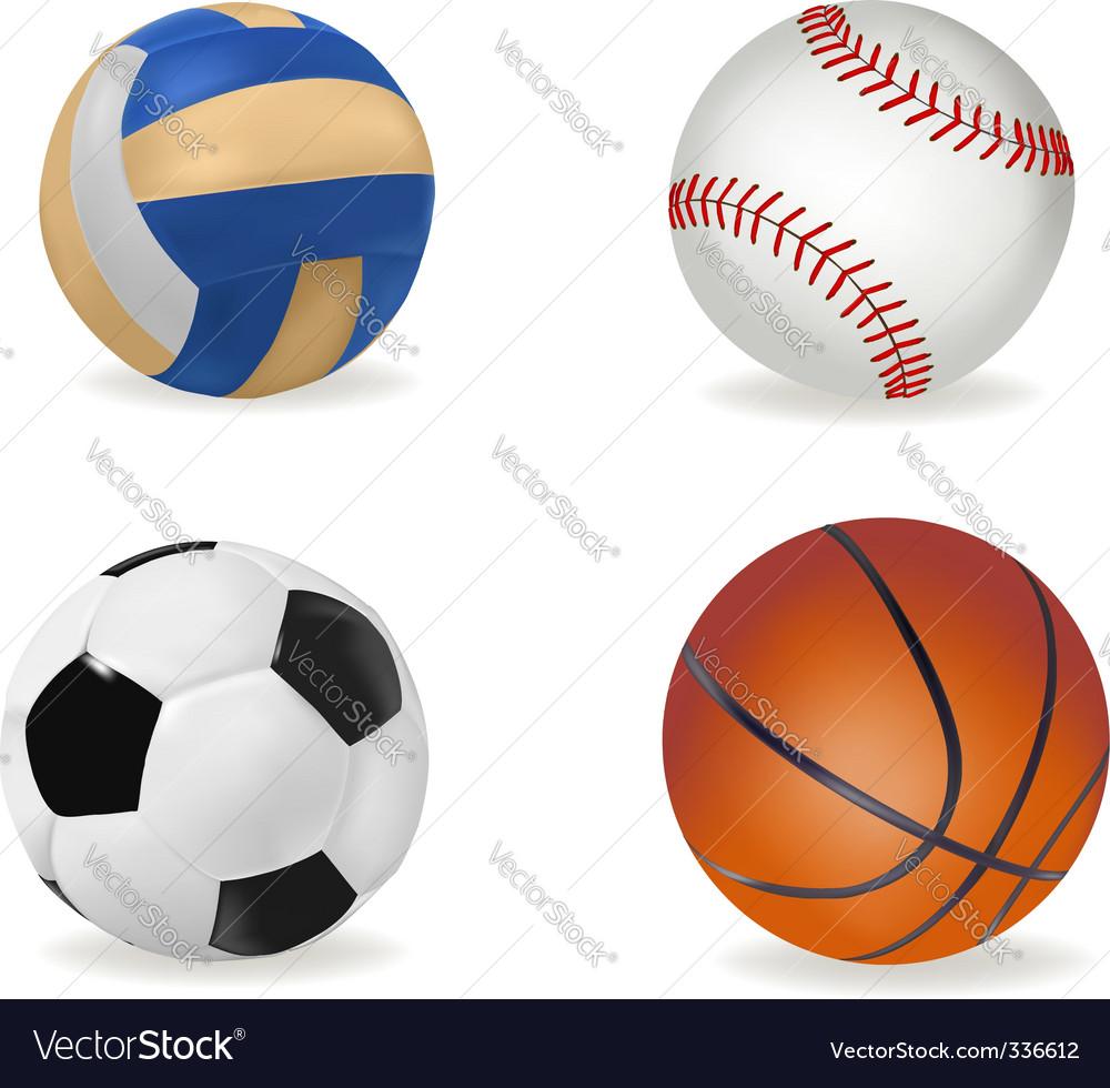 Big set of sport balls