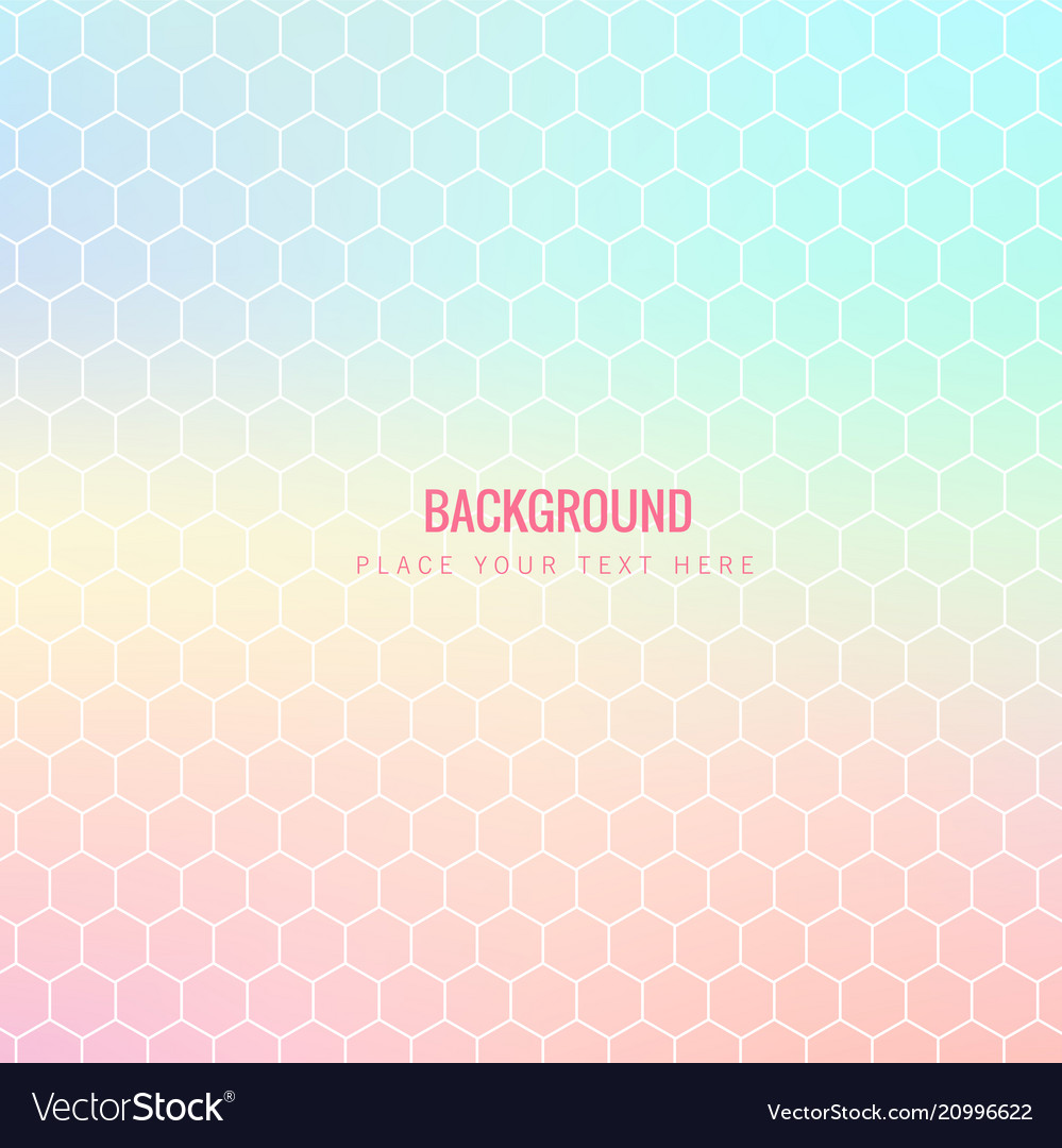 Abstract colorful honeycomb pink background