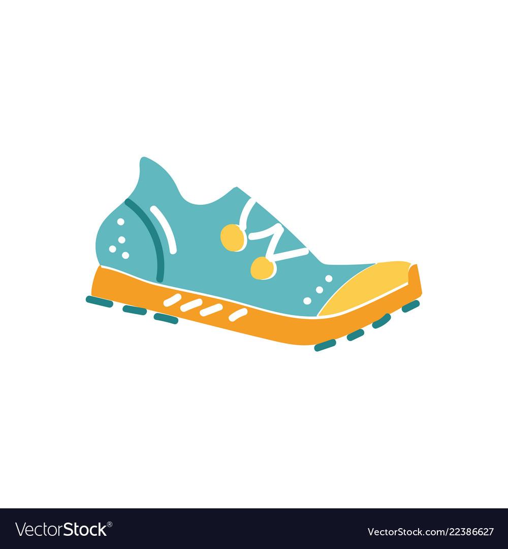 Spike running shoe