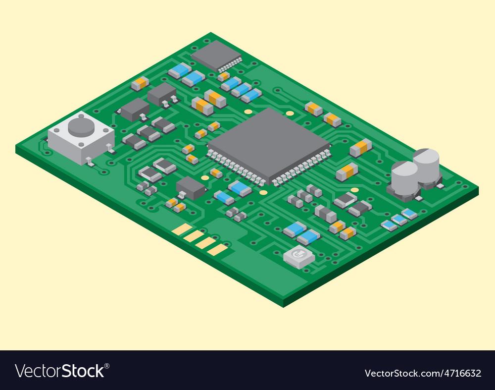 Surface mount technology PCBA