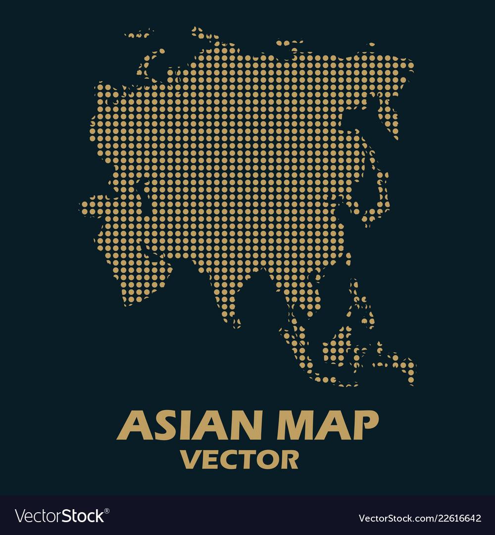 Asian map