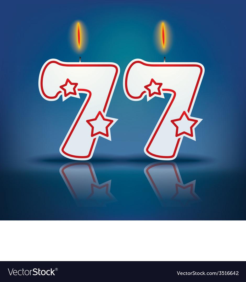 День рождения 77 лет открытка