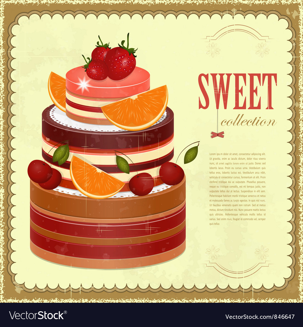 Big Chocolate Fruit Cake