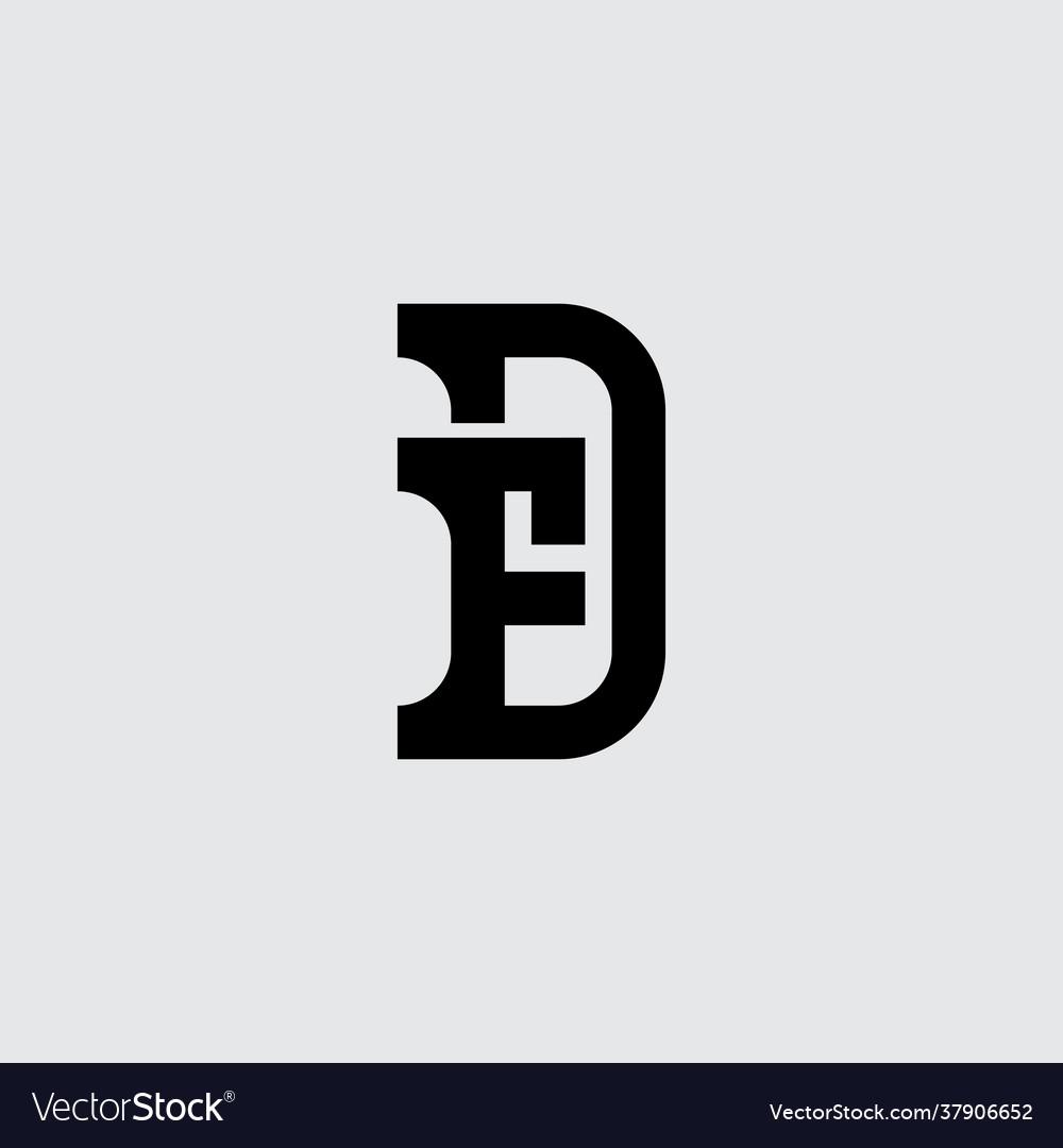 Minimalistic monogram premium business logotype