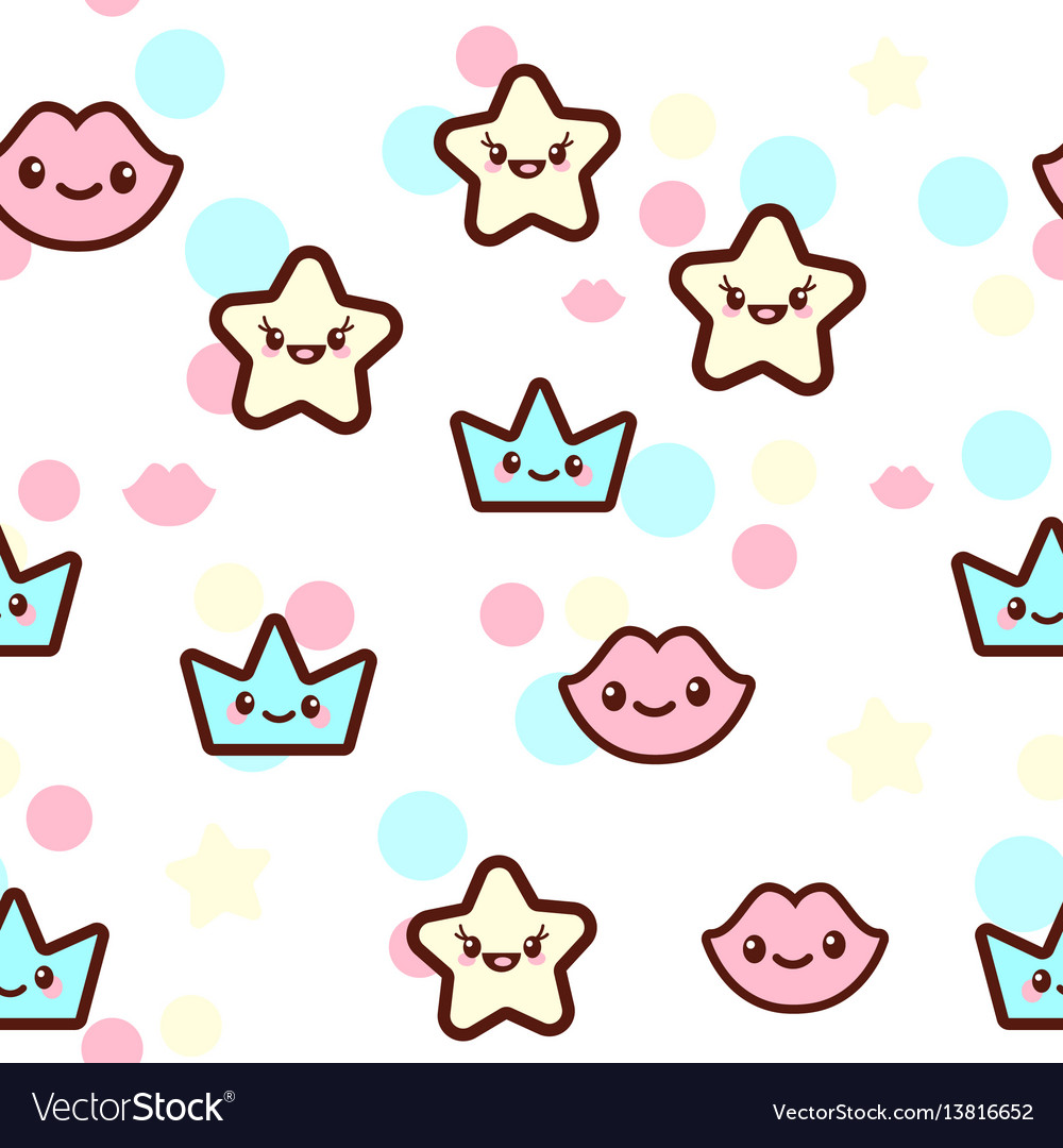 The stars lips and crowns