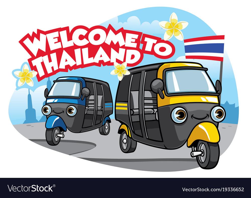 Tuk Tuk Car Of Thailand