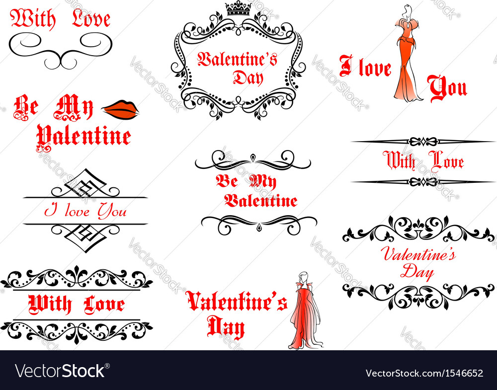 Valentines Day messages and headlines