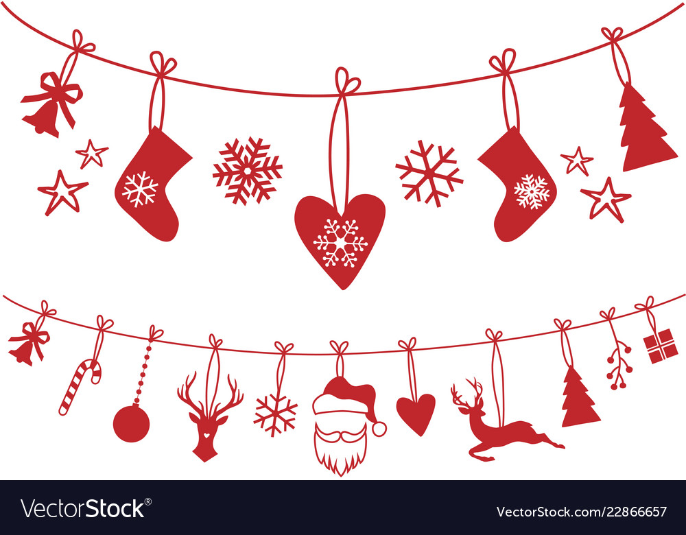 Christmas stocking decoration