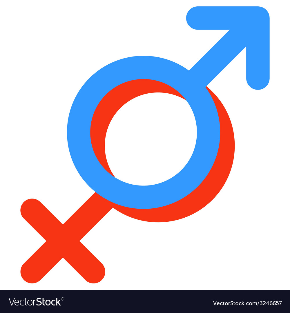 Gender Symbol Of Venus And Mars Royalty Free Vector Image