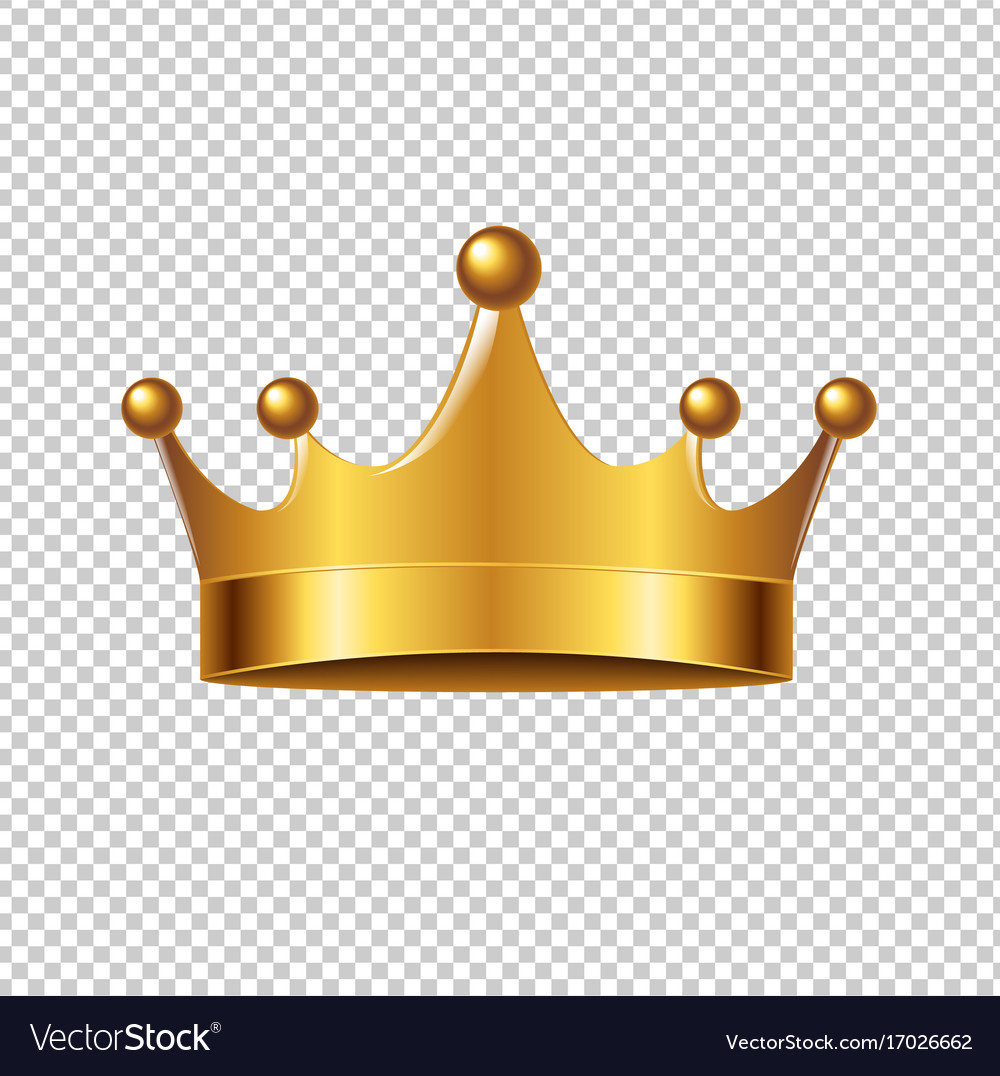 golden crown royalty free vector image vectorstock vector crown logo vector crown clip art
