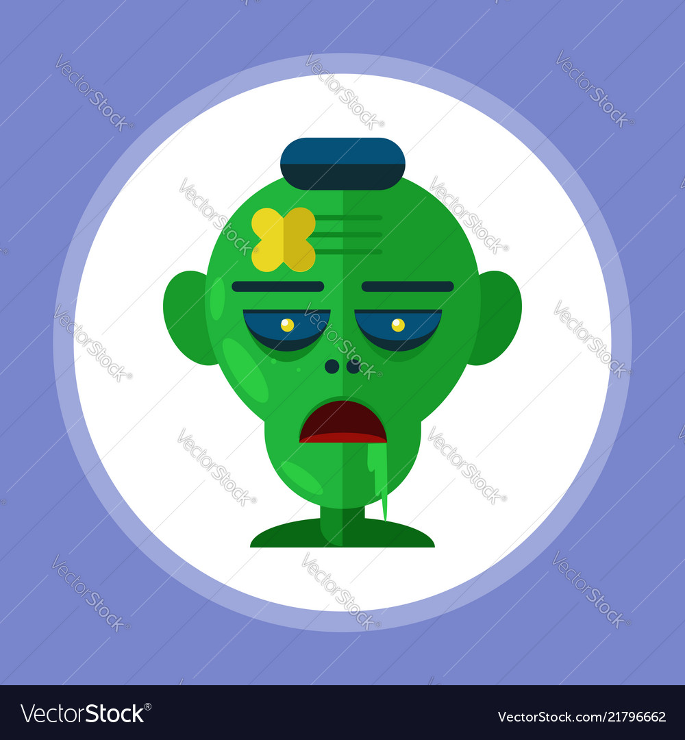 Halloween zombie icon sign symbol