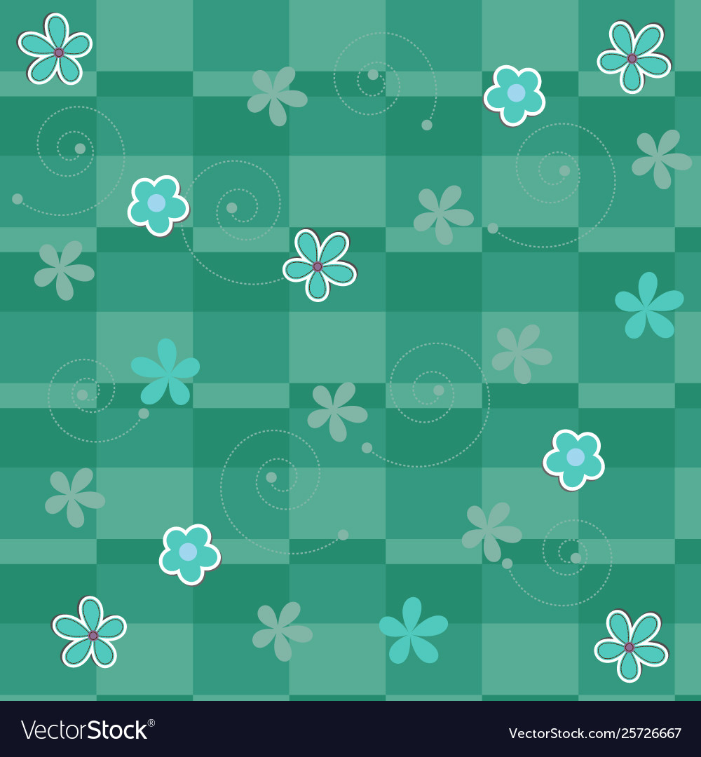 Cute paper flower background
