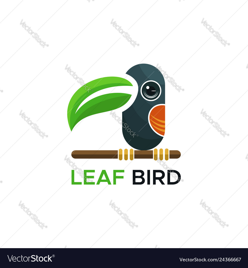 Leaf bird logo