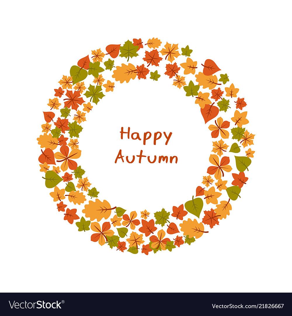 Set of bright autumn leaves set of bright autumn
