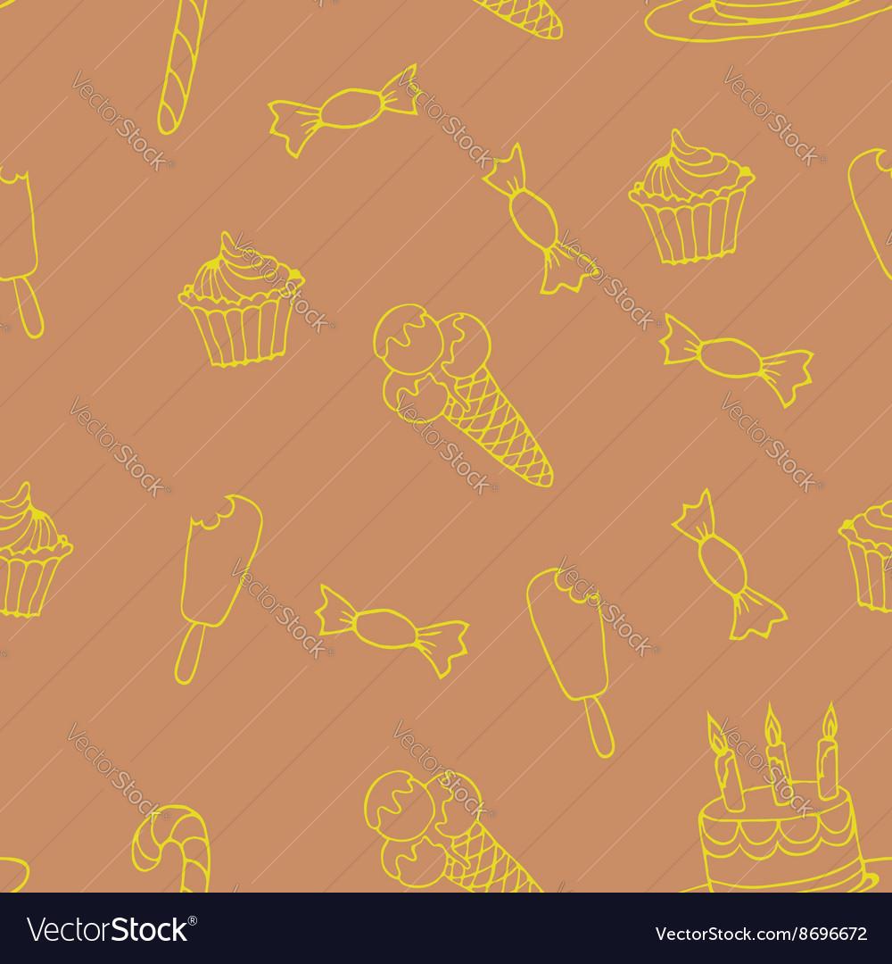 Sweet a seamless pattern