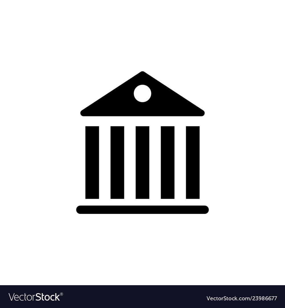 Government pantheon building icon signs and