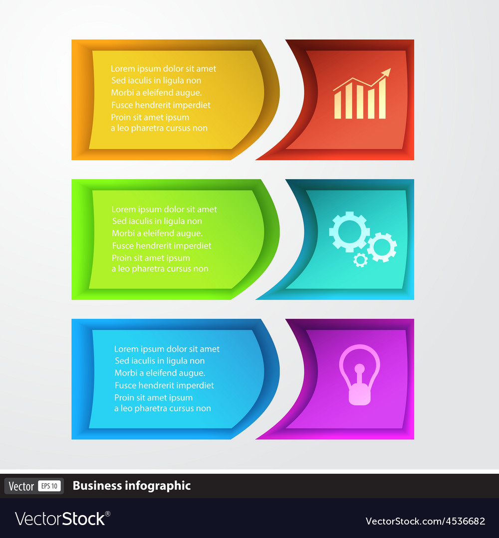 Modern design template infographics for business