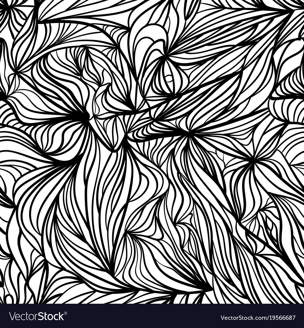 Black and white curved seamless background