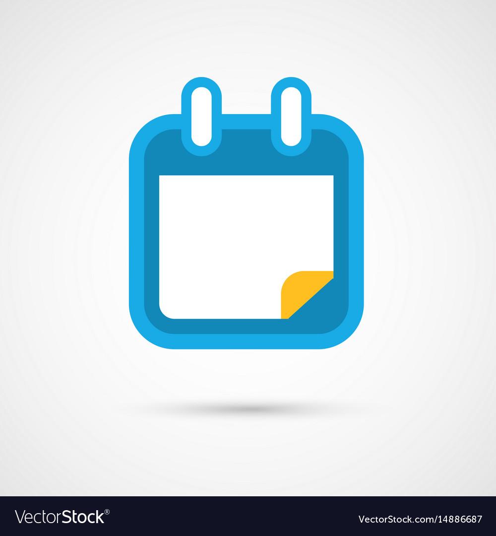 Calendar icon - blank