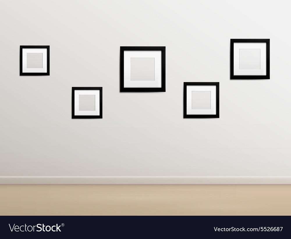 Empty Photographer Studio Background Royalty Free Vector