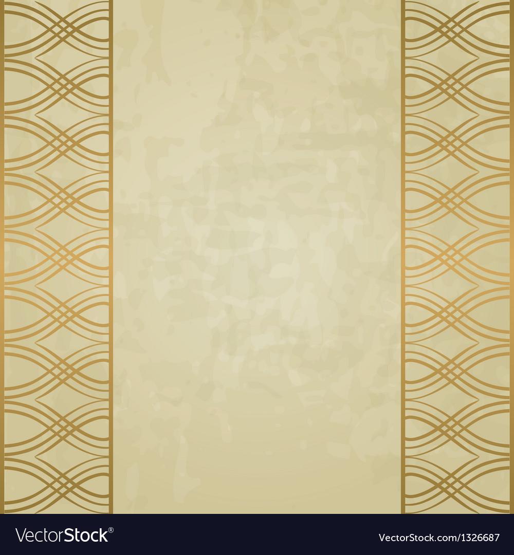 Pastel vintage background vector image