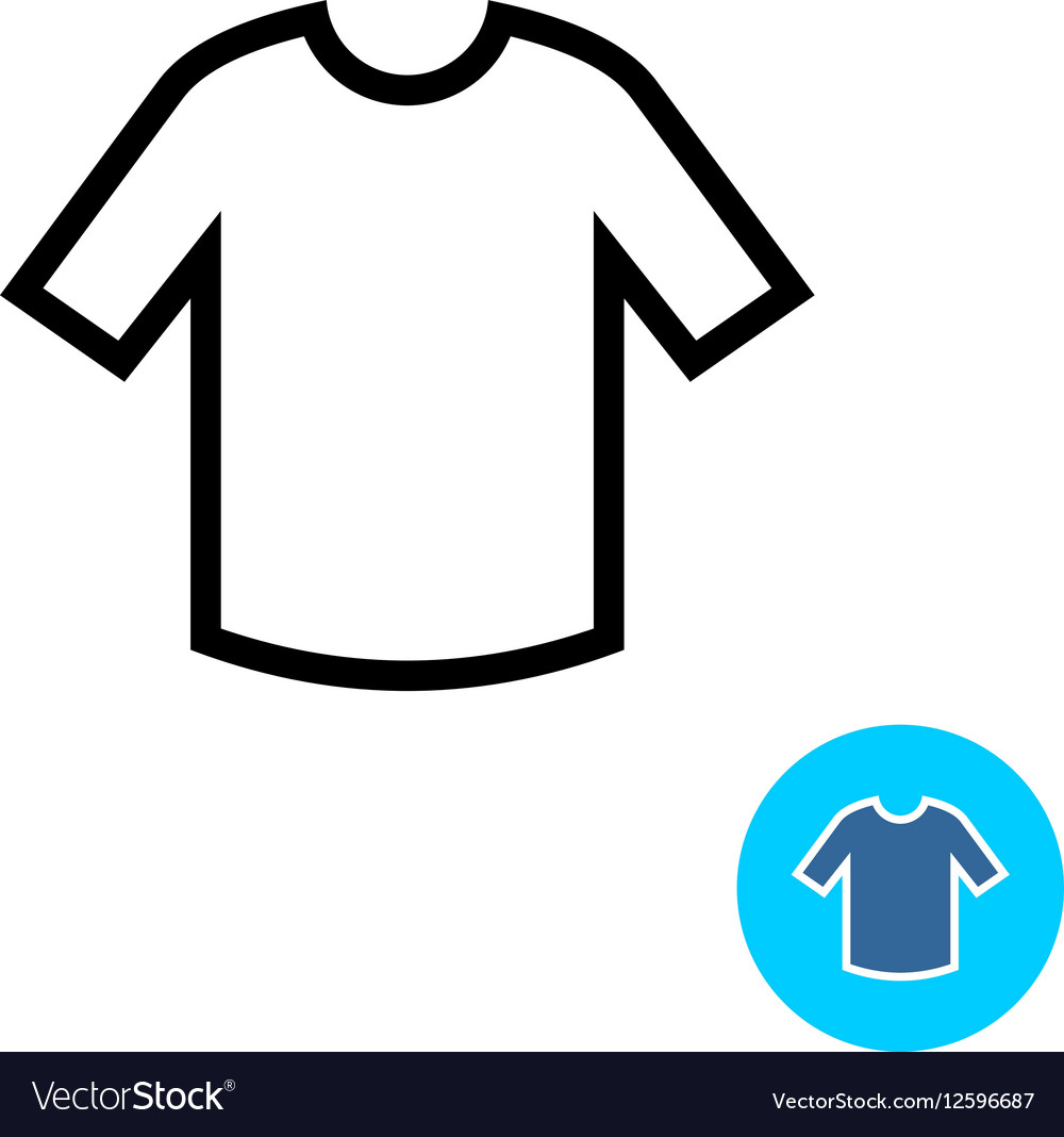 T-shirt clothes icon