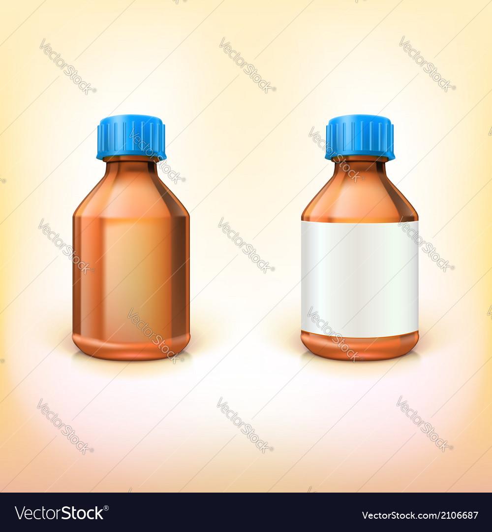 Vial for drugs