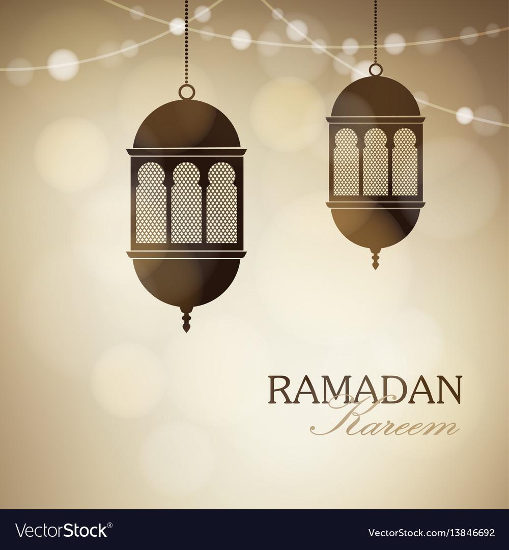 Illuminated arabic lamps lanterns with string