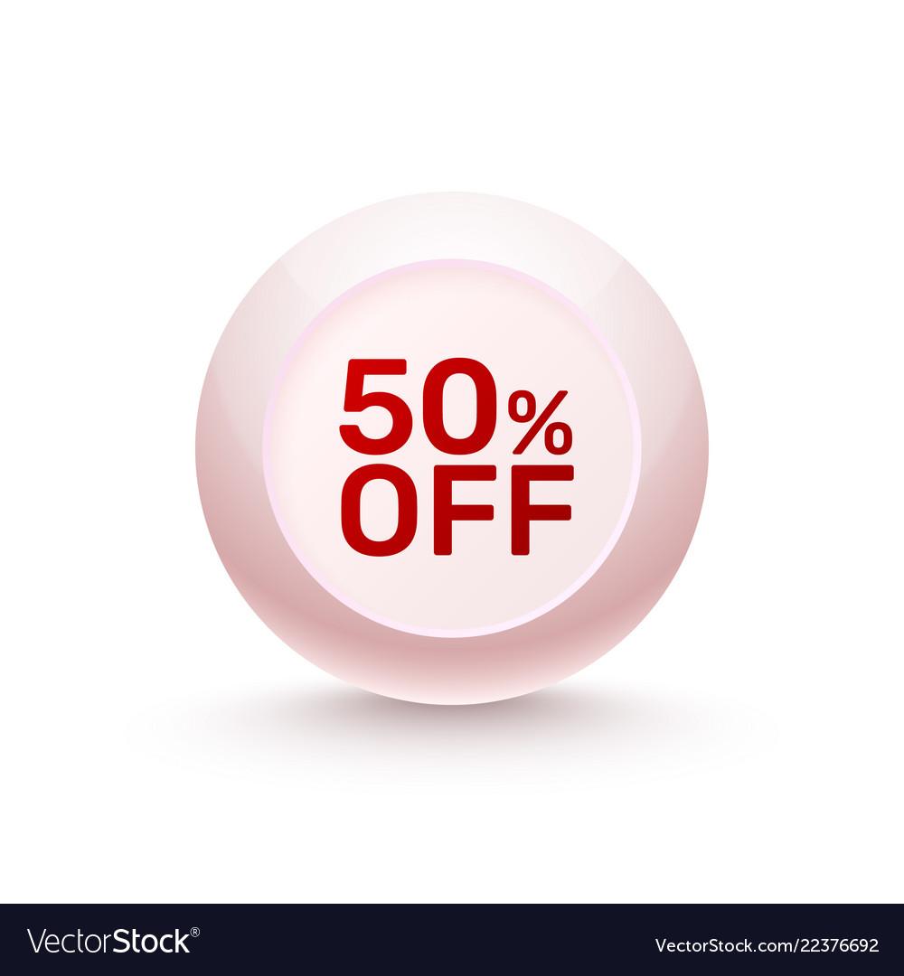 Sphere banner promotional offer