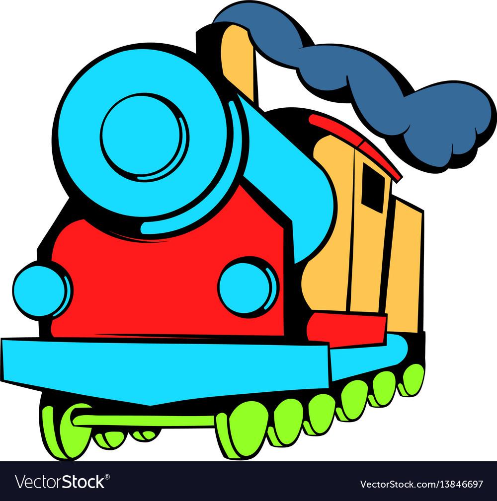 Locomotive icon icon cartoon
