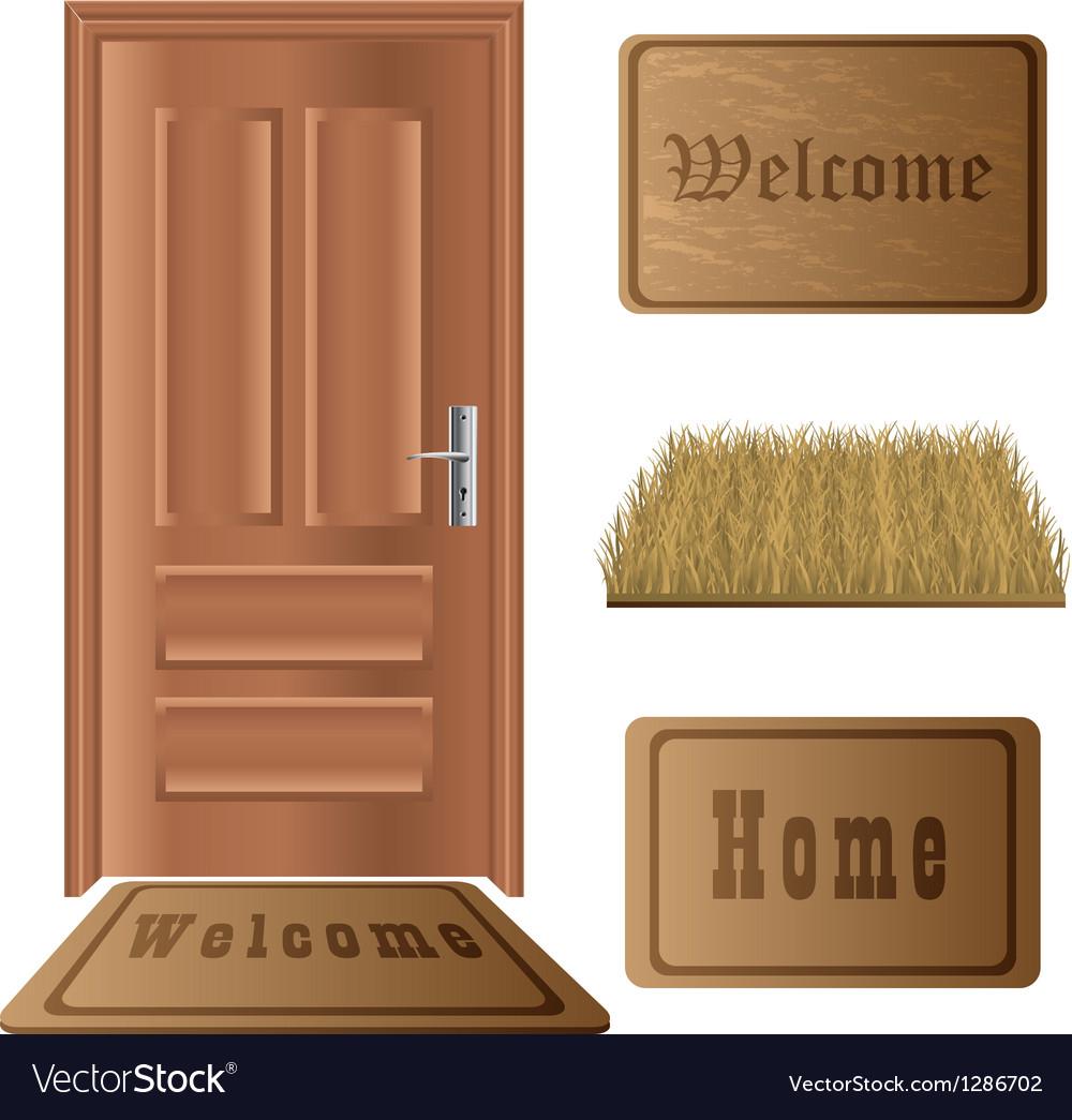 Door mat set