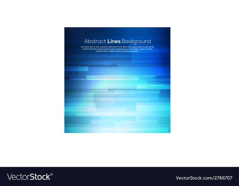 Blue abstract lines business background