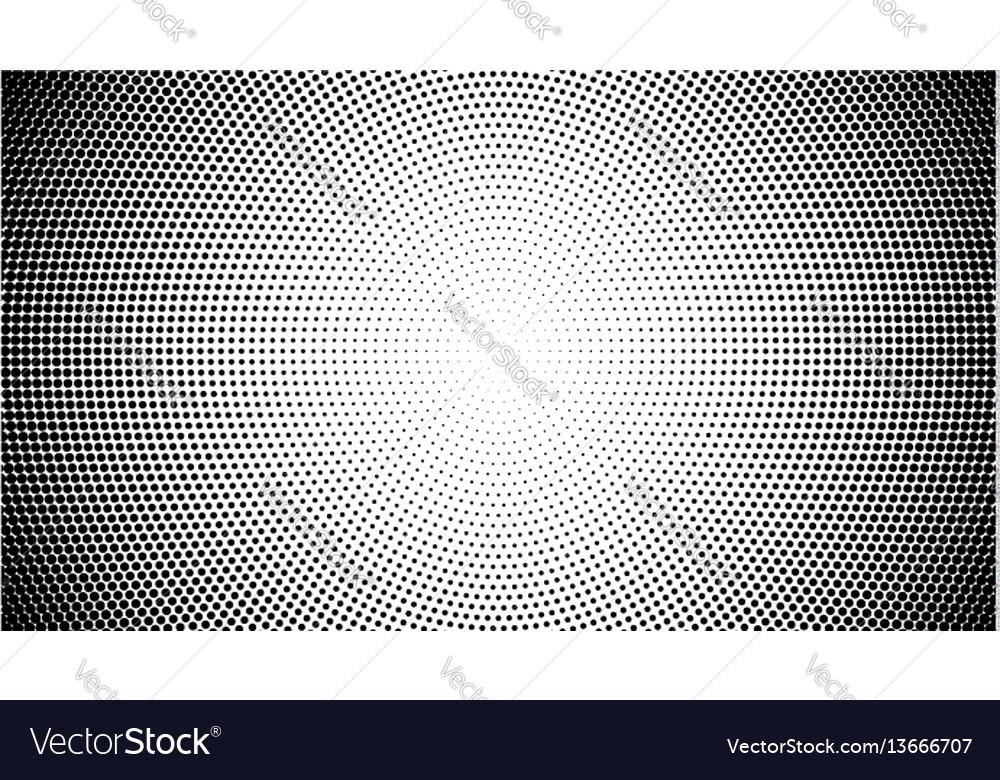 Halftone pattern background round spot shapes