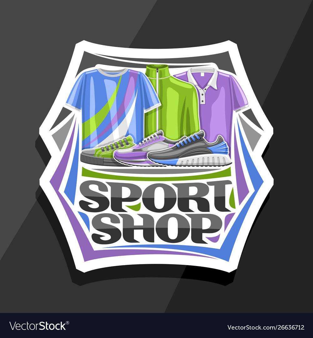 Logo for sport shop