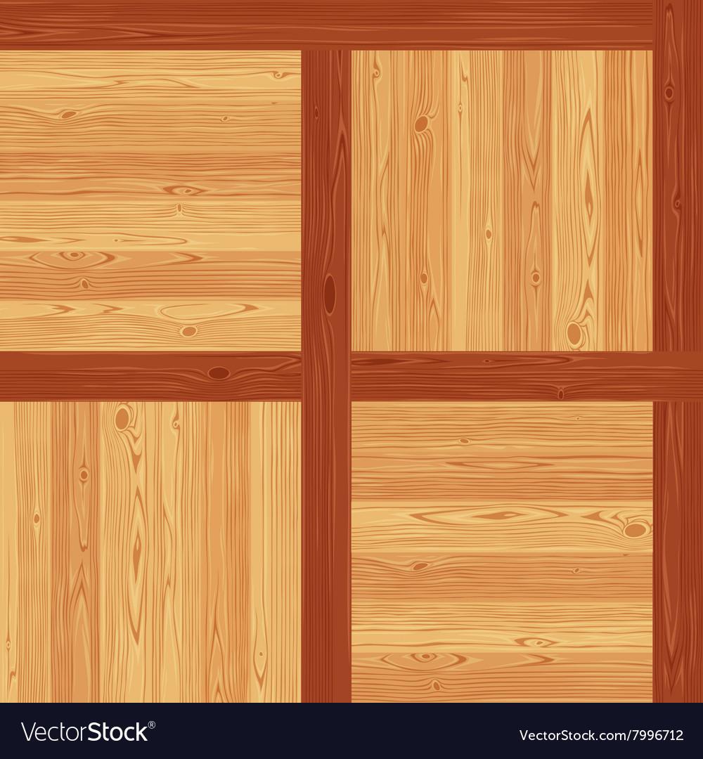Versailles Parquet Seamless Floor Pattern vector image