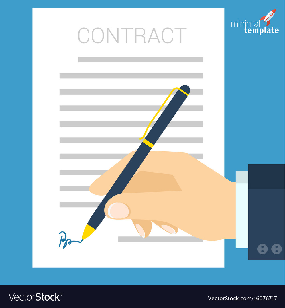 Document signing icon