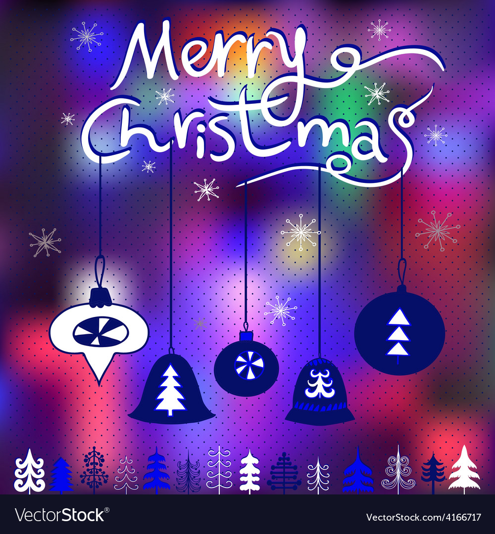 Elegant christmas greeting card with snowflake