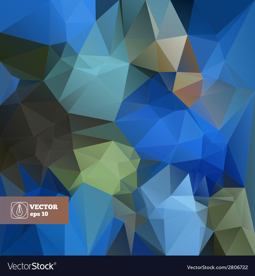 Abstract Trianlges Background