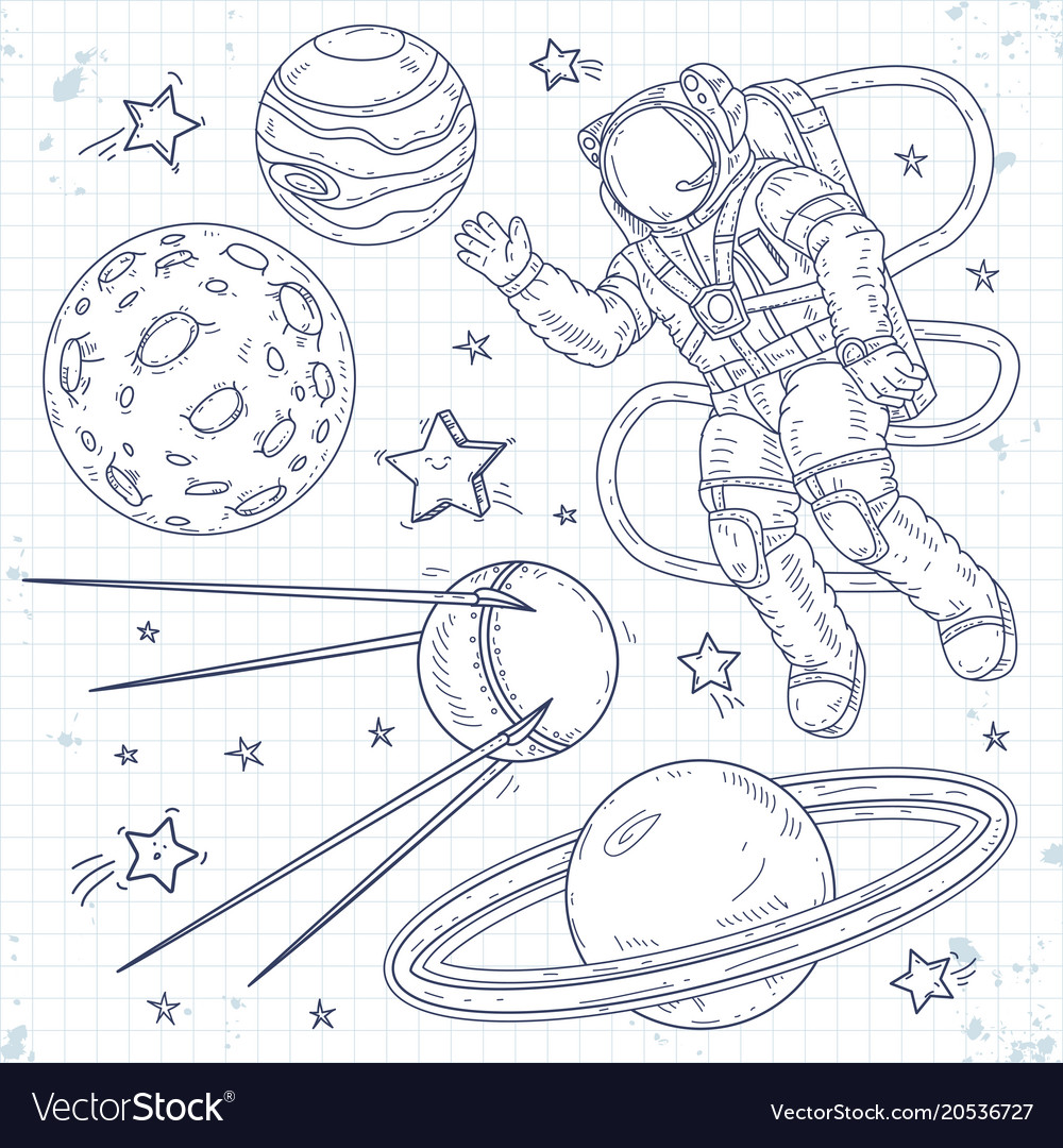 Spaceman planets stars and