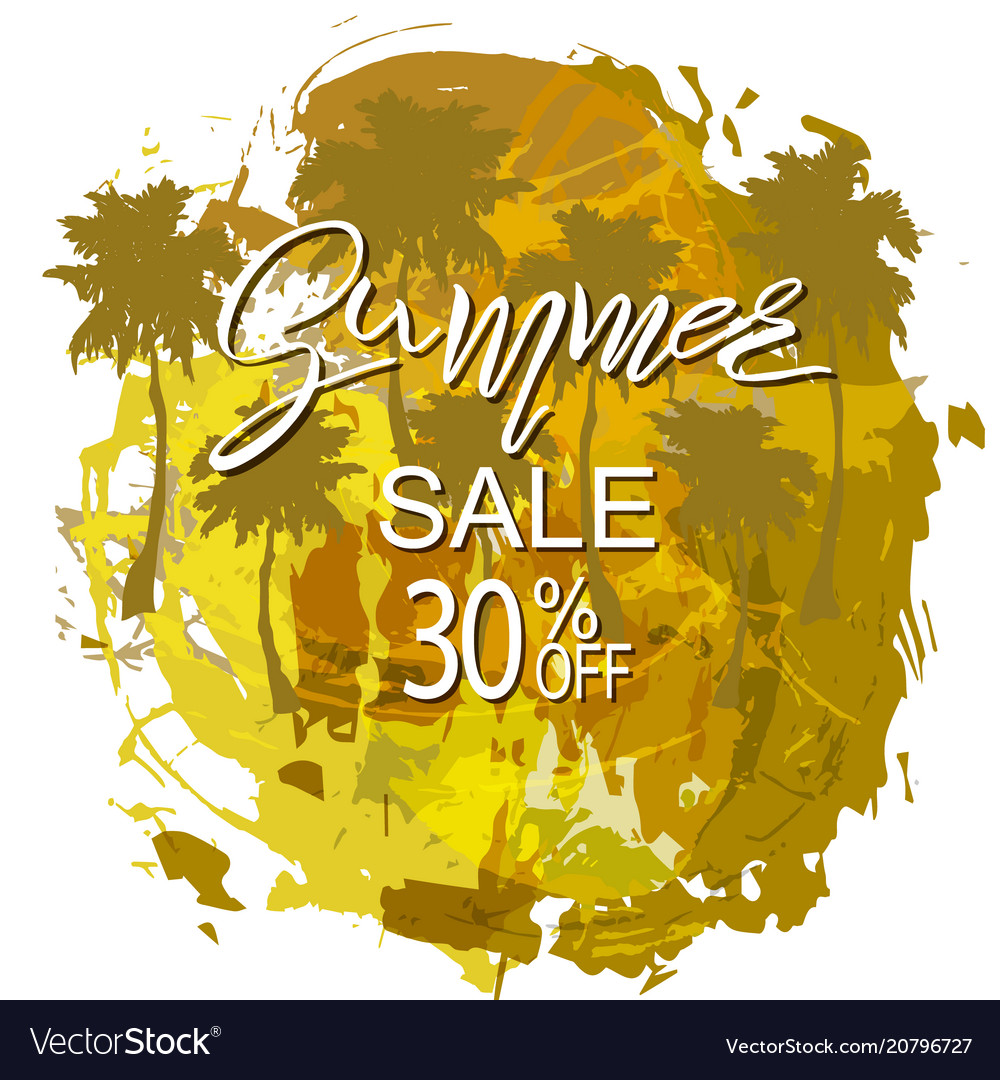 Summer tropical background sale