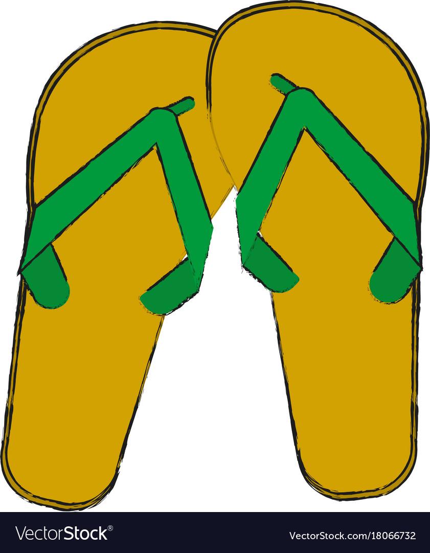 Flip flops sandals