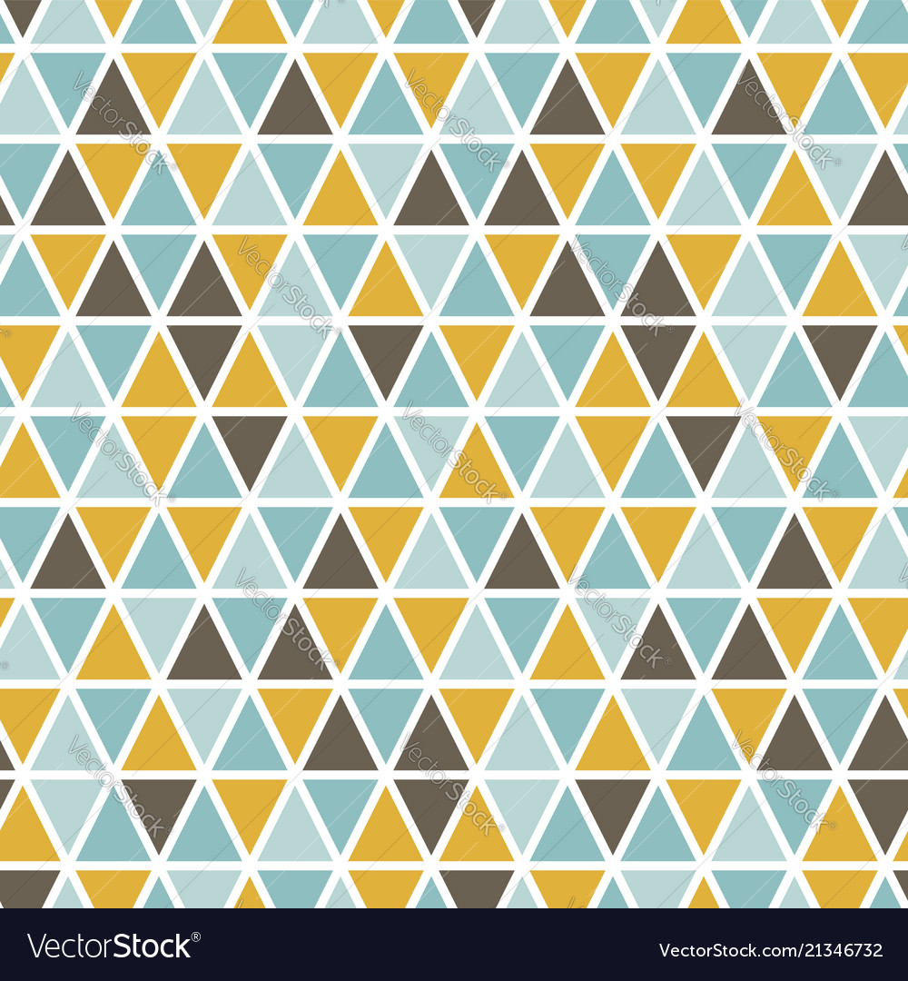 Seamless pattern with random triangles